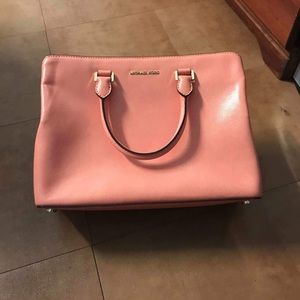 Michael Kors Pink Grapefruit Savannah Satchel